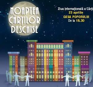 Noaptea Cărților Deschise 2015